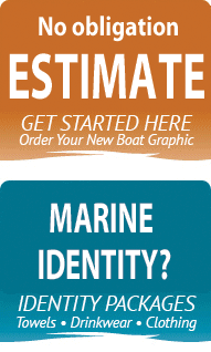 Vinyl lettering & Marine Identity Services